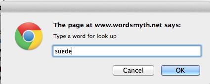 Wordsmyth search
