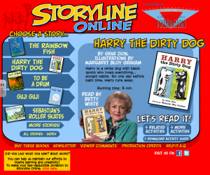 The Storytime Online logo