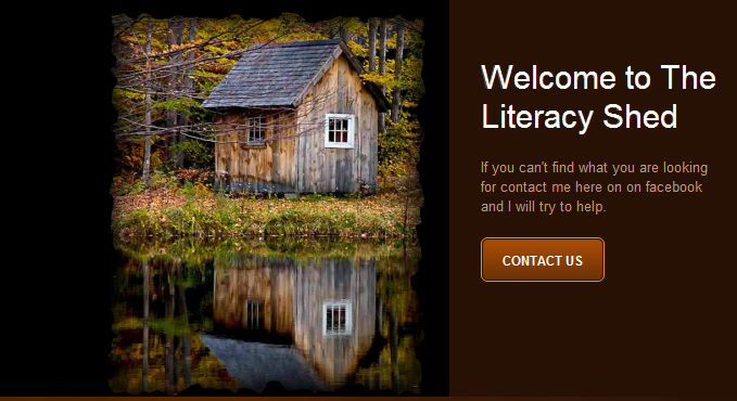 The Literacy Shed web page picture
