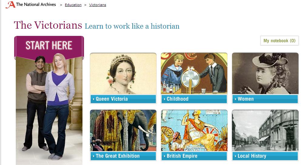 The Victorians Website