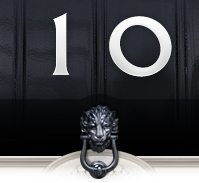 10 Downing Street - door number