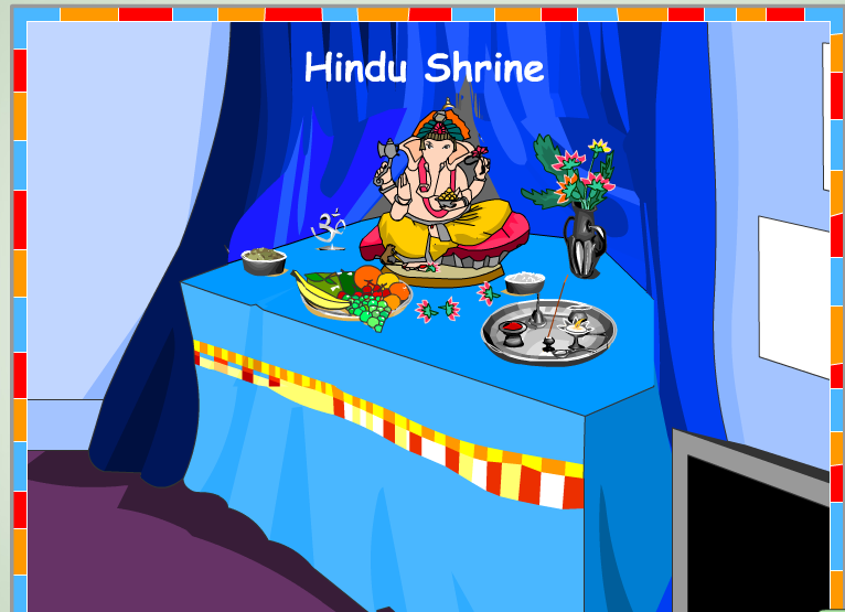 A Hindu Shrine