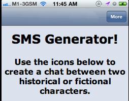 SMS generator