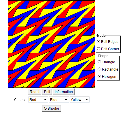 A Fun Interactive Tessellation Tool