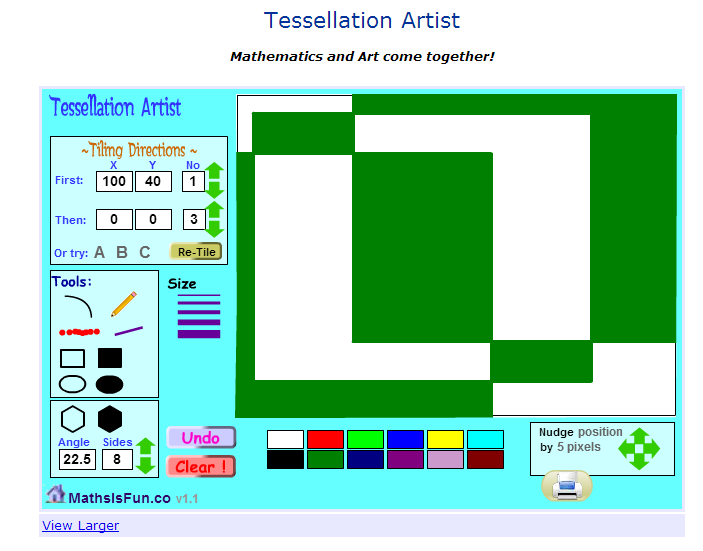 Tessellation Studies for Key Stage 2