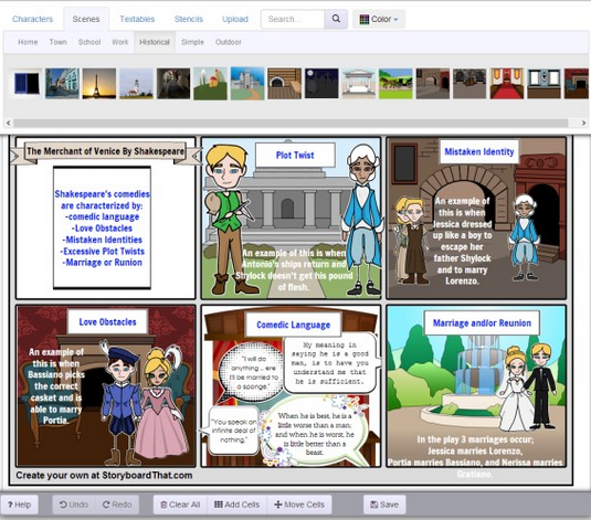 Storyboard That Creator 123ict 123ict