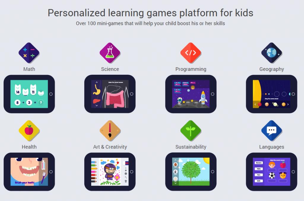Yogome educational games
