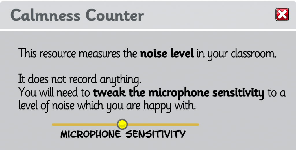 A Quiet Classroom - Free Noise Indicators