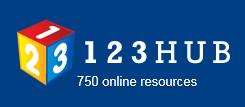 123HUB Logo