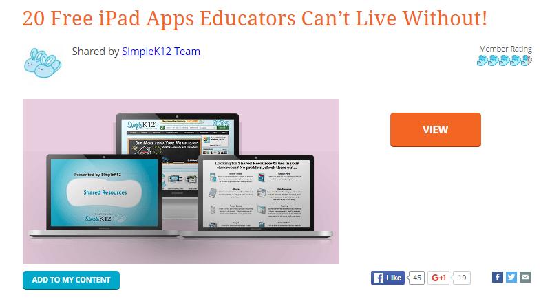 SimpleK12 a Resource for Teachers