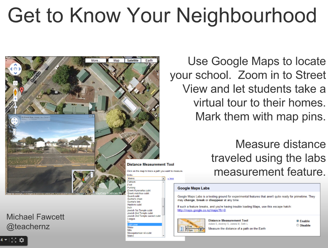 How to use Google Maps in the classroom