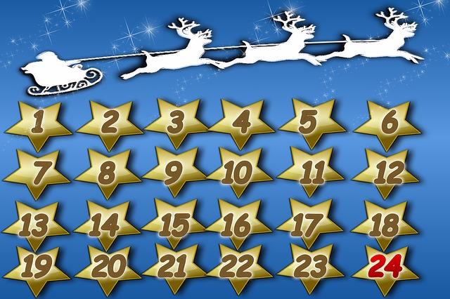 2016 online advent calendars