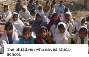 The children who saved their school