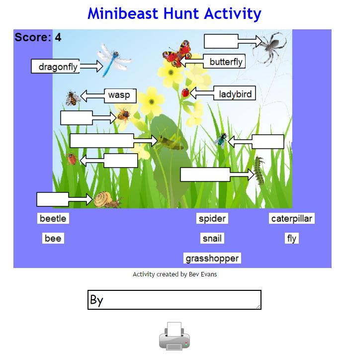 Infant Encyclopedia Minibeasts