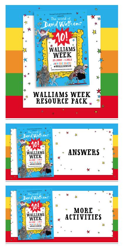 Walliams week