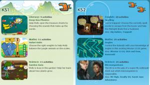 BBC Bitesize webpage
