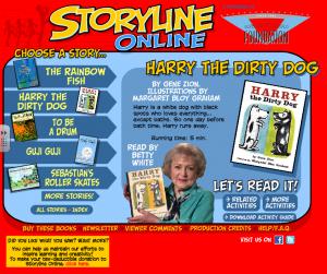 The Storytime Online logo