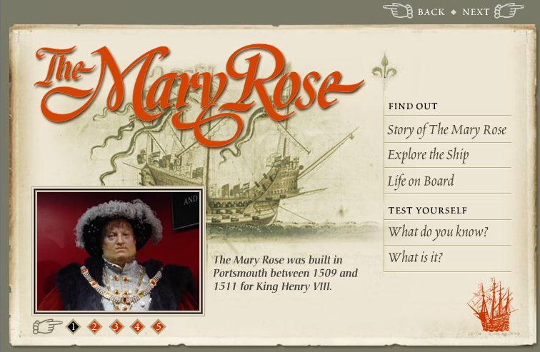 The Mary Rose web site