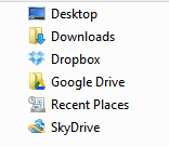 Showing drives on my computer