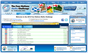 The Four Nations web site