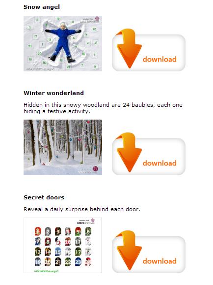 Woodland trust Advent Calendars