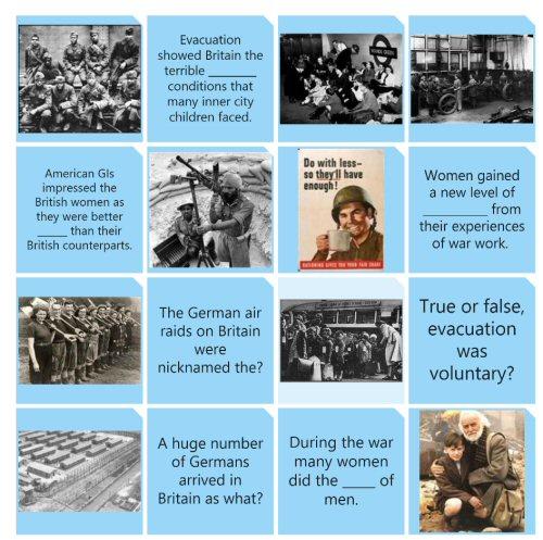 A History Quiz