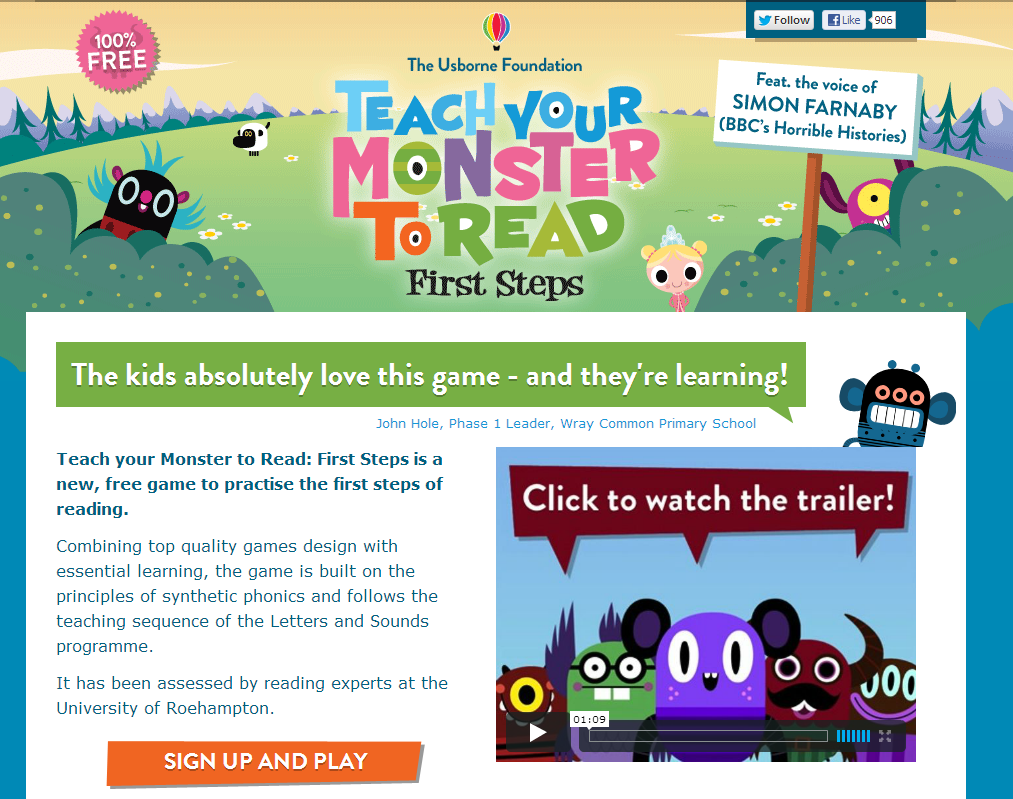 Teach your monster to read screen shot
