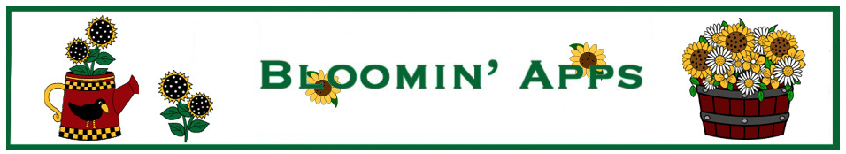 the Blooming Apps banner