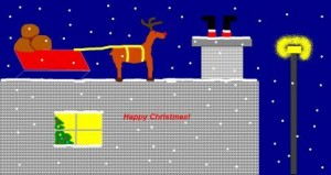 Santa on the roof2-websize
