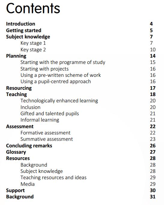 ICT New Program of Study