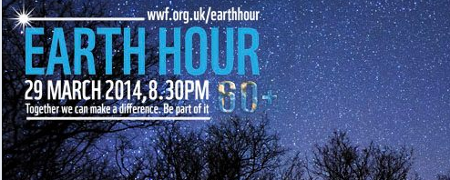 Welcome to Earth Hour Blue
