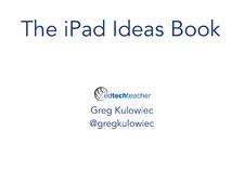 iPad Ideas Book