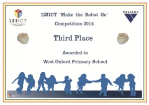 West Oxford Primary School - Third Place Web