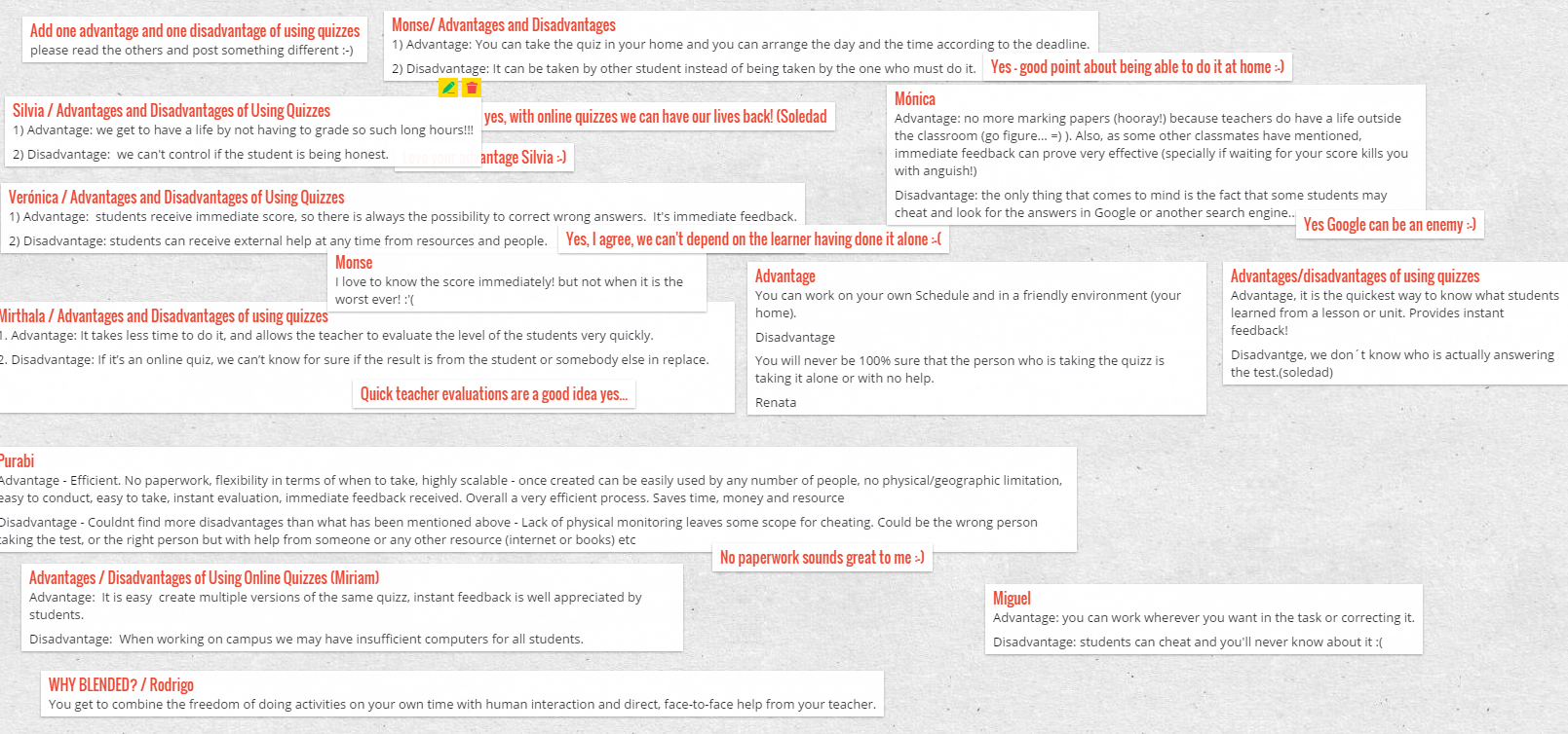 Create a Padlet wall for your classroom