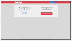 An online Quizalise quiz making program