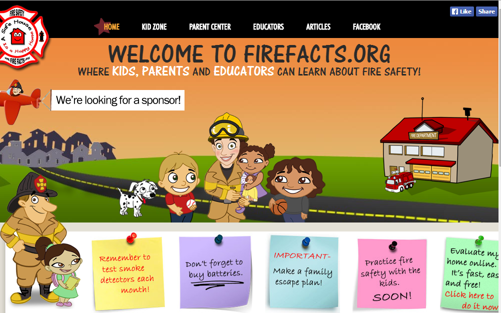 Fire safety 123ict 123ict for Home safety facts