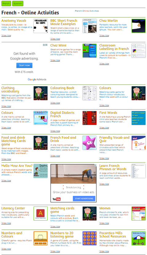 Free Teaching Resources from TopicBox