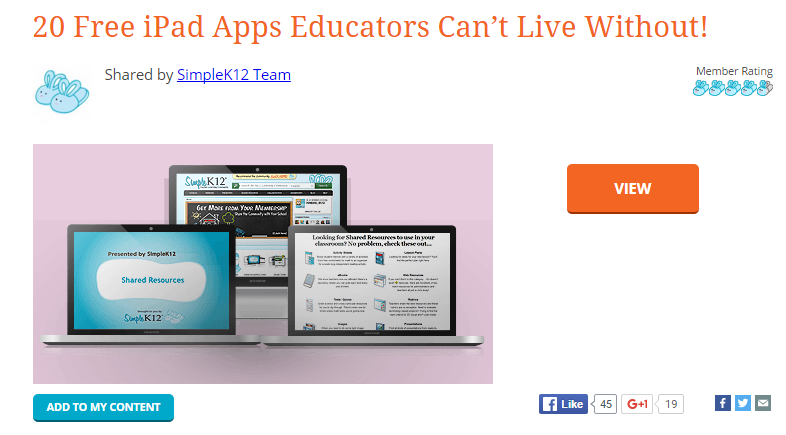 SimpleK12 a Resource for Teachers