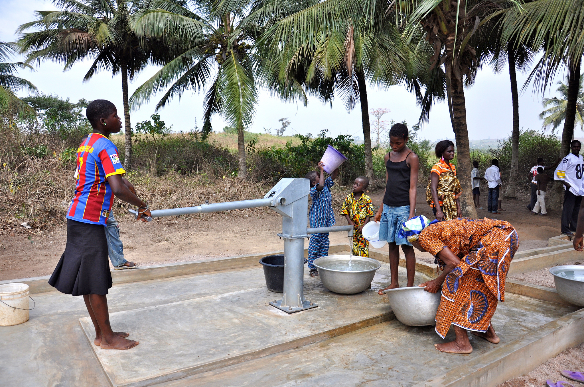 Giving Access to Clean Water around the World