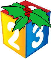chritmas-123-cube-with-holly