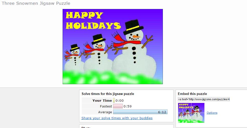 Christmas Interactive Games