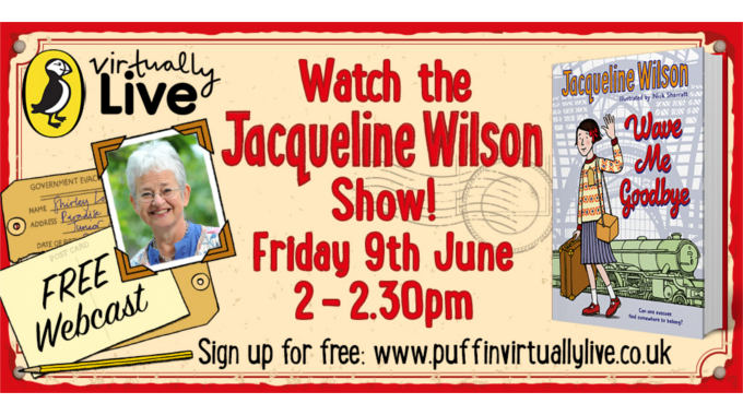 Jacqueline Wilson Webcast and Teaching Resources!