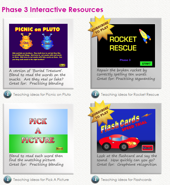 KS1 Literacy Resources