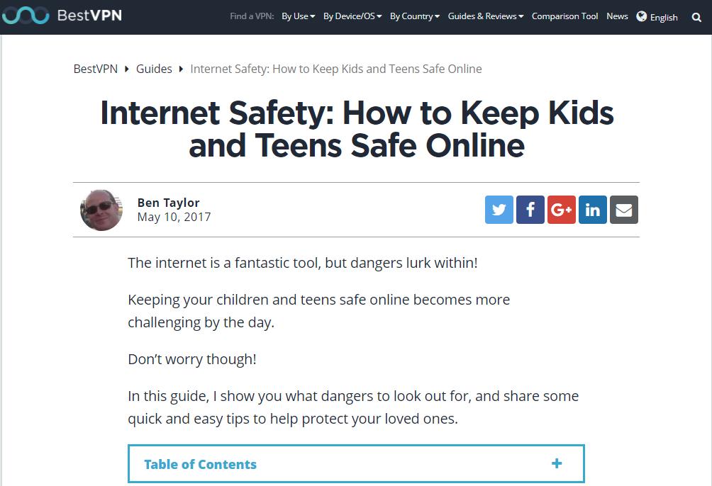 Free Online Safety Book